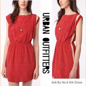 Urban Outfitters 6x6 By No.6 Silk Dress M